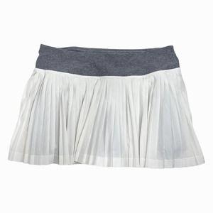Lululemon Pleat To Street Skirt 8 White Slate